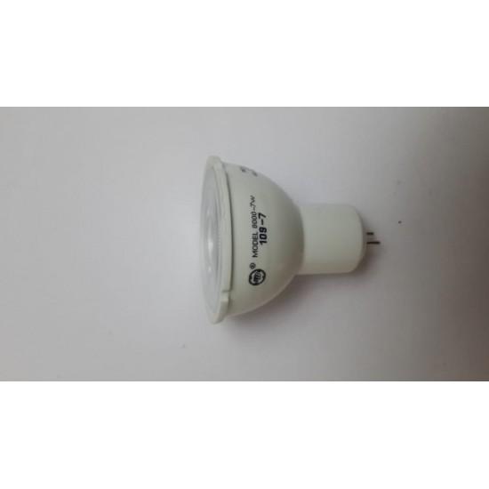 LED spotlight MR16, 7 watt, 10 pieces