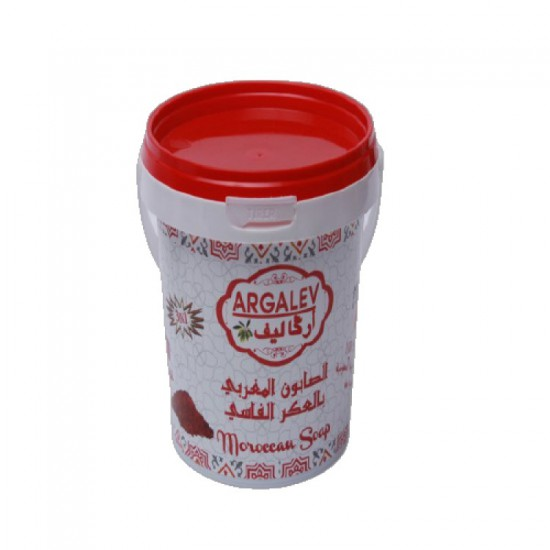 Moroccan soap with Aker Fassi 500g