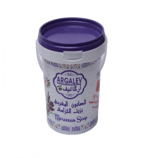 Moroccan soap with lavender oil 500grams
