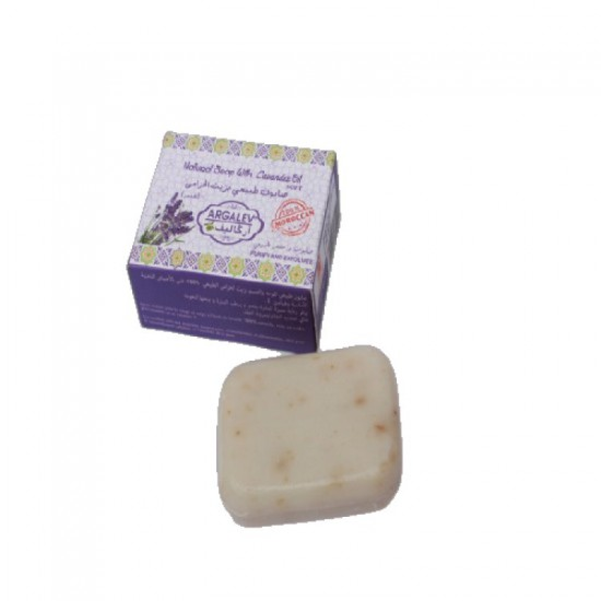 Moroccan soap with lavender oil 80 Grams