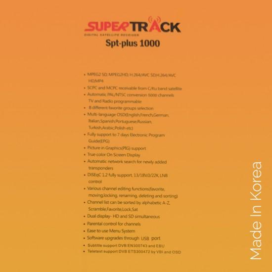 Super Track Receiver plus 1000