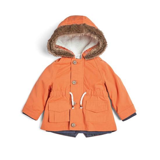3 Piece Parka Coat