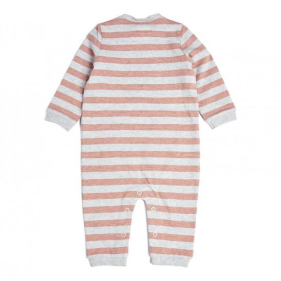 Striped Romper - Pink