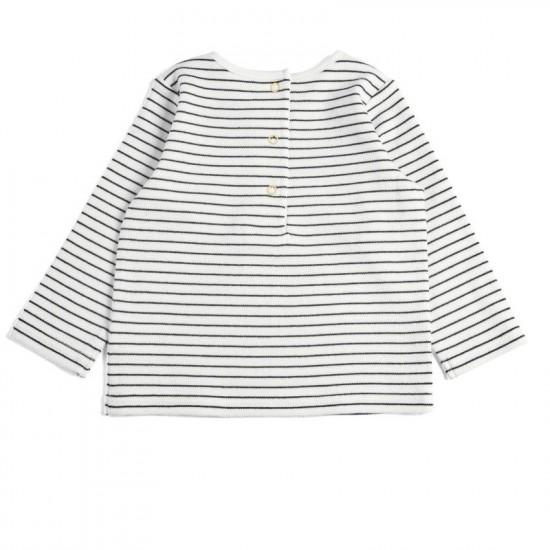 Striped Bird T-shirt