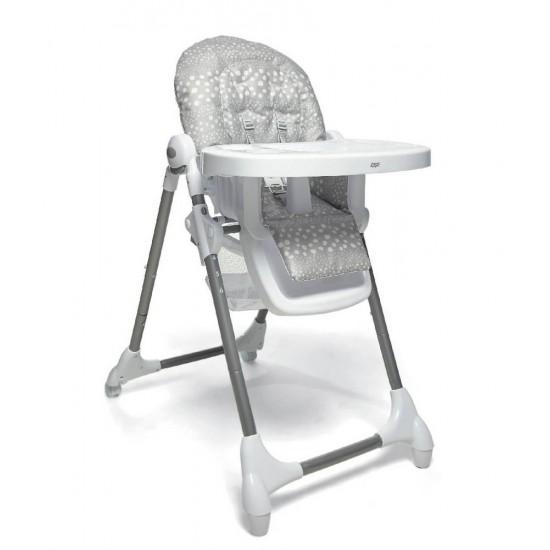 Snax Highchair - Grey Spot