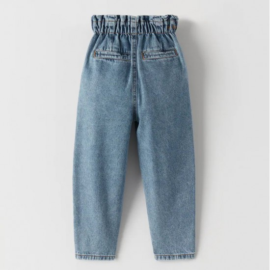 Paperbag Stretch Jeans