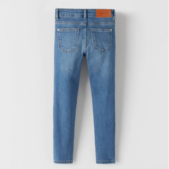 Basic Medium Blue Skinny Jeans