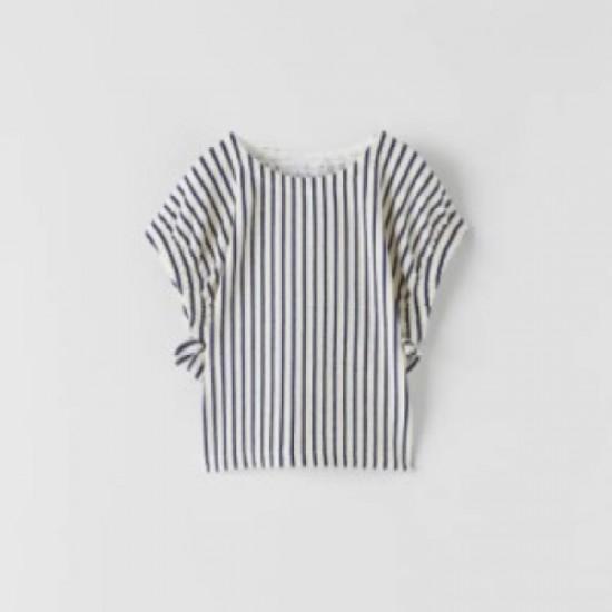 Navy-Striped T-shirt