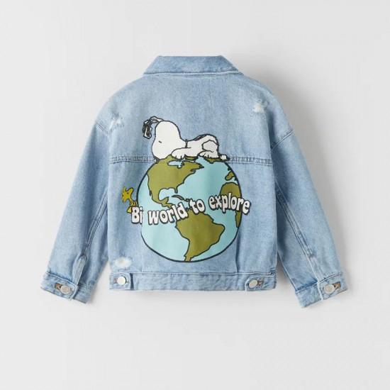 Denim Snoopy® Peanuts Jacket