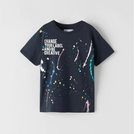 Paint Splatter T-Shirt