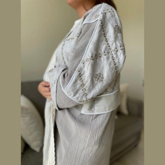 Grey Women's Abaya